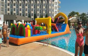 Şişme Havuz Oyunu Parkur X