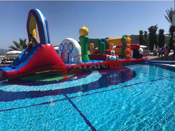 Şişme Olimpik Havuz Parkuru