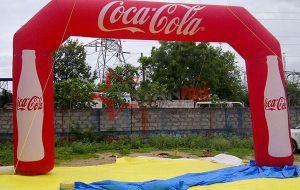 Şişme Coca Cola Yol Kemeri