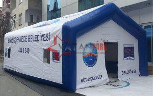 Şişme Taziye Çadırı Büyükçekmece Belediyesi