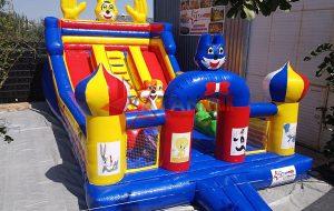 Şişme Oyun Parkı Renkli Figürler 1