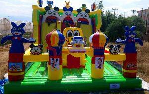 Şişme Oyun Parkı Mikiler Oyun Evi